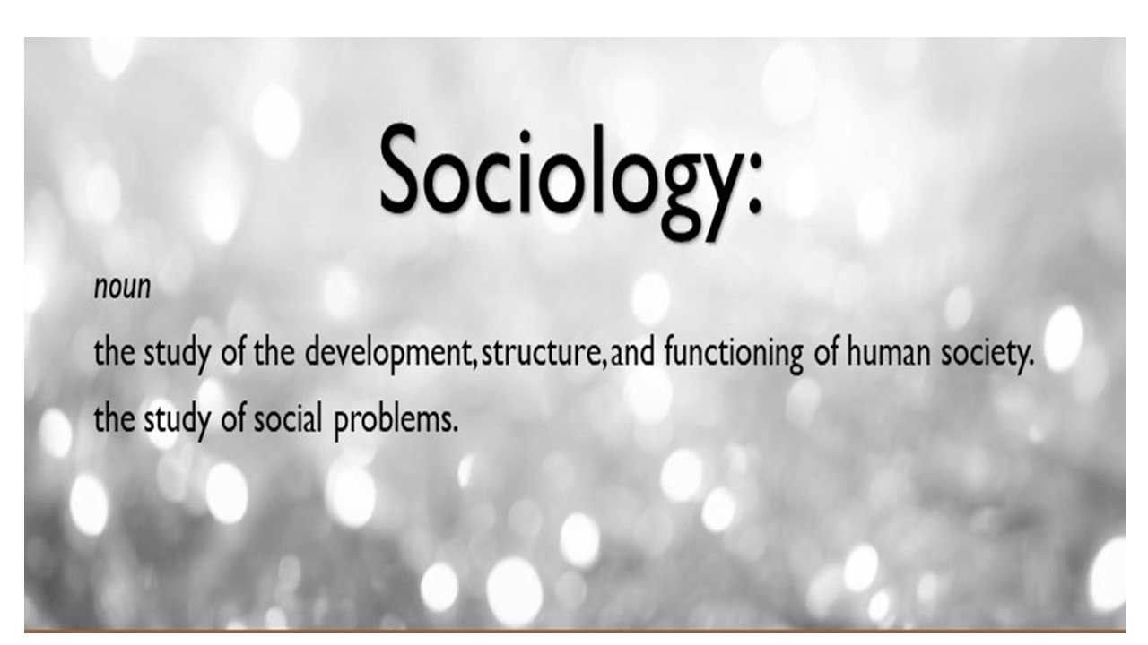 The Sociology Guy